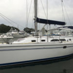 delivery skipper and crew delivered yacht from Sydney
