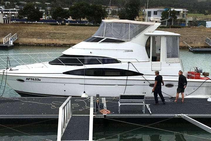 Power Boat delivered from Sydney to Melbourne