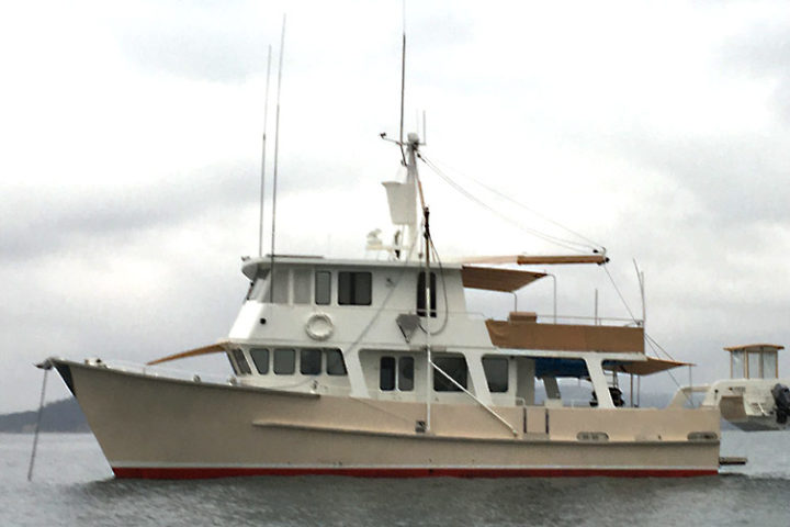 Power Boat delivered to Tasmania from Brisbane